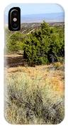 View Of The Desert New Mexico IPhone Case