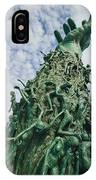 View Of The Holocaust Memorial IPhone Case