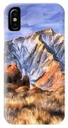 View Of The Sierras IPhone Case