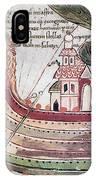 Viking Ship - 10th Century IPhone Case