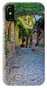 Village Lane Provence France IPhone Case
