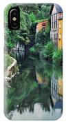 Village Reflections In Luxembourg II IPhone Case