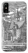 Village Schoolhouse, C1840 IPhone Case