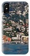 Villefranche Hillside II IPhone Case
