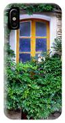 Vine Covered Stone House IPhone Case