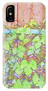 Vines On A Fence IPhone Case