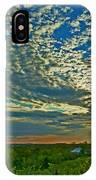 Vineyard Sunset I IPhone Case