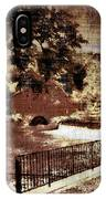 The Red Mill  Bucks County Nj  IPhone Case