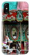 Vintage Circus Carousel - Merry-go-round IPhone Case
