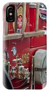 Vintage Fire Truck 2 IPhone Case