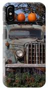 Vintage Harvest IPhone Case