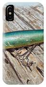 Vintage Lido Flaptail Saltwater Fishing Lure IPhone Case