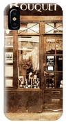 Vintage Paris 4 IPhone Case