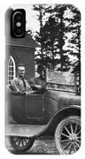Vintage Photo Of Men In Truck IPhone Case
