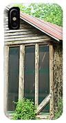 Vintage Pool House IPhone Case