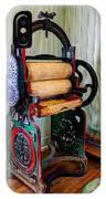 Vintage Wringer IPhone Case