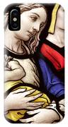 Virgin Mary And Baby Jesus Stained Glass IPhone Case