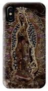 Virgin Of Guadalupe 3 IPhone Case