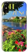 Visit Provence Poster IPhone Case