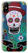 Viva El Amor Day Of The Dead IPhone Case