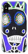 Voodoo King Sugar Skull Angel IPhone Case
