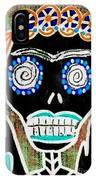 Voodoo Queen Sugar Skull Angel IPhone Case