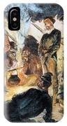 Voyageurs IPhone Case
