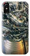Vulcain Engine Designed For Ariane 5 Launcher IPhone Case