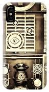 Vulcan Steel  Steampunk Metalworks IPhone Case