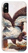 Vulture Attacking A Snake IPhone Case