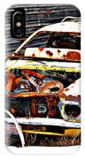 Wagon Of Rust IPhone Case