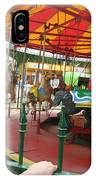 Waiting To Ride Carousel IPhone Case