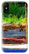 Waiting To Sail IPhone Case