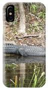 Wakulla Springs Alligator IPhone Case