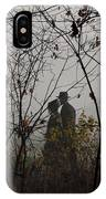 Walking To Church IPhone Case