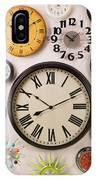 Wall Clocks IPhone Case