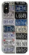 Wall Of License Plates IPhone Case