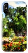 War Memorial Rose Garden  4 IPhone Case