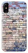 Warehouse Brick Wall IPhone Case