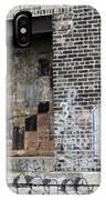 Warehouse Grafitti 2 IPhone Case