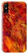 Warmth And Charm - Abstract Art IPhone Case