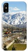 Wasatch Mountain Range IPhone Case