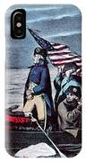 Washington Crossing The Delaware, 1776 IPhone Case