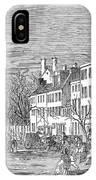 Washington, D.c., 1853 IPhone Case