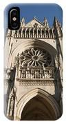 Washington National Cathedral Entrance IPhone Case