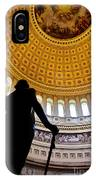 Washington Under Capitol Dome IPhone Case