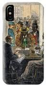 Washington: Voting, 1867 IPhone Case