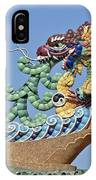 Wat Chaimongkol Pagoda Dragon Finial Dthb787 IPhone Case