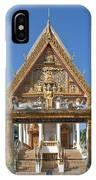 Wat Kan Luang Ubosot Gate Dthu181 IPhone Case