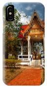 Wat Kham Chanot IPhone Case